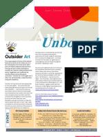 Arts Unbound Newsletter - Summer 2010