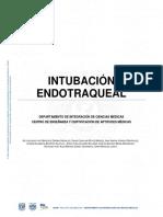 INTUBACION-ENDOTRAQUEAL