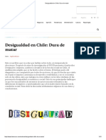 Desigualdad en Chile_ Dura de Matar