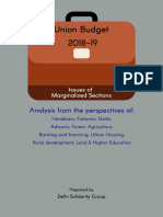 Union Budget 2018 19