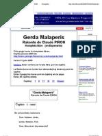 Gerda Malaperis         Rakonto de Claude PIRON         Kompleta libro