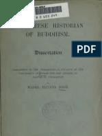 A Burmese History of Buddhism