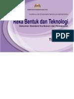DSKP KSSM Tingkatan 1 Reka Bentuk Dan Teknologi