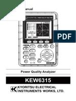 KEW6315 Manual