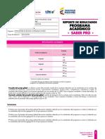 Reporte ICFES 2016 Saber Pro Upc Lic. Lengua Castellana e Inglés. PDF