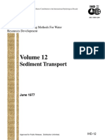 Volume 12 Sediment Transport (US Army Crops Engineers)
