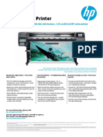 HP Latex 365 Printer Datasheet