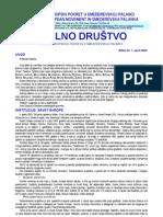 """Bilten """"Civilno društvo"""" UG """"Evropski pokret u Smederevskoj Palanci"""", br. 1, april 2003"""