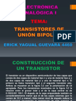 Transistores de Unión Bipolar