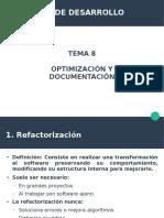 Tema 8. Optimización y Documentación