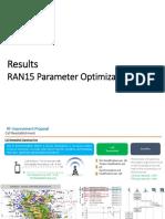 ParametersOptimisation to Improve Drop Rate