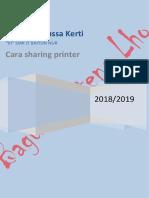 sharing printer Bagus Manussa Kerti Kelas XI Smk IT Baitun Nur 2018