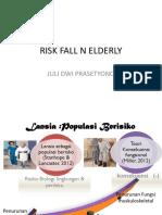 Risk Fall n Elderly