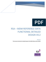 RSA - MDM Reference Data Functional Detailed Design v0 2