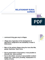 Functional Relationship Rural &Urban