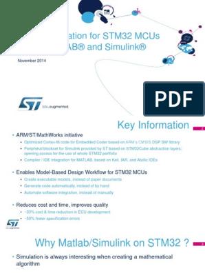 En stm32 Matlab | Matlab | Embedded System