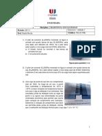 Lista de Exercícios 2_Resistência Dos Materiais I_Prof. Danilo_2017