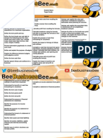 APP BeeBusinessBee Unit 2 Checklist