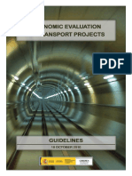 Guide on Economic Evaluation of Transport Projects
