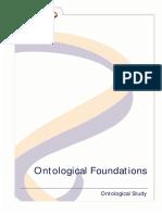 Ontological Foundations Essay