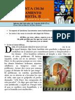 HORA SANTA Con San Pedro Julián Eymard. El Anonadamiento de La Eucaristía (36.b)