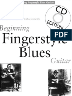 Beginning Finger Style Blues Guitar