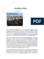Ukrainian Auxiliary Police — W.