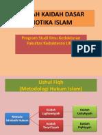 Kaidah Dasar Biotika Islam