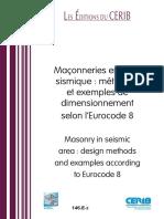 146 e Maconneries Zone Simique Dimensionnement Eurocode 8