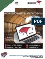 02° Temario del Curso Estructuras Metálicas SAP2000-1