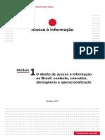 Módulo 1 - O Direito de Acesso à Informação No Brasil