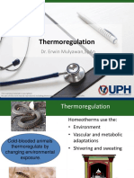 Thermoregulation & Disturbance in Extreme Condition (Dr. Erwin)