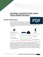 SSL Control 5.0e Feature Module
