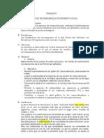 Formato Para La Presentacion Iniciativas