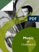 Music at Chetham's
