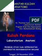 Kuliah 1 Anatomi Umum