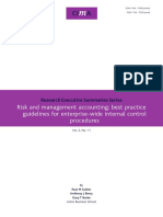Tech Ressum Risk and Management Accounting Best Practice Guidelines for Enterprise-wide Internal Control Procedures 2006