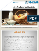 Germany Dairy Products Mailing Lists