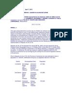 Legislative Department - cases (Poli)