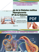 Fisiopatologia de Diabetes