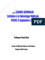Medecine Semiologie Initiation