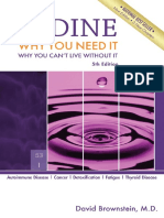 David Brownstein Iodine Why You Need It Why You Can t Live Without It Medical Alternatives Press