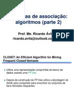 Associação Outros Algoritmos