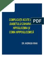 Curs Hipoglicemie Iulie 2010 v2
