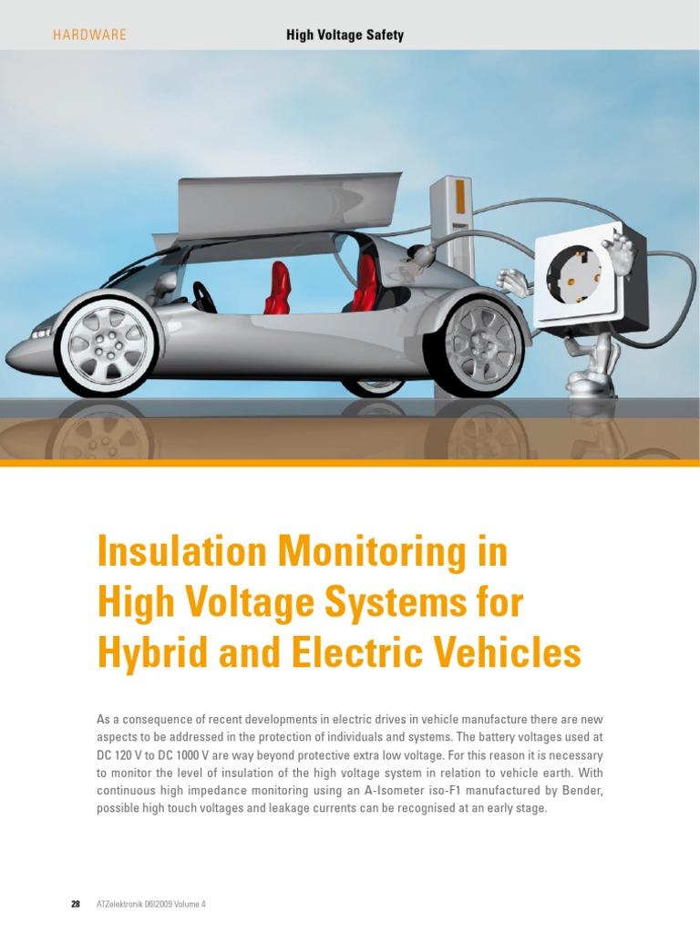 Insulation Monitoring ATZelektronik E-Magazin November 2009