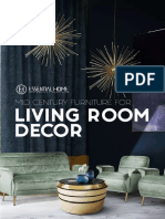 Mid Century Living Room Trends