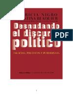 Desnudando El Discurso Polc3adtico Para Lengua 2