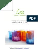 Catálogo de Homeopatía Clásica 2015
