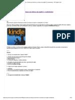 [Guia] Usando o Kindle para turbinar sua leitura em inglês! [+ audiobooks] - VIP English Club