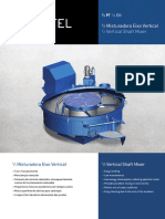 CARFEL Misturadora Eixo Vertical HCF 750E PT-En